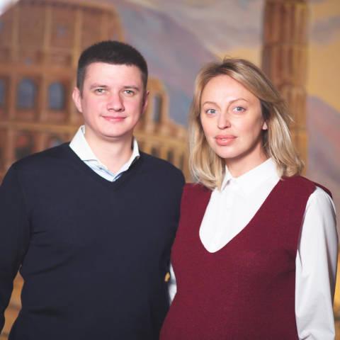 Александр и Оксана Савельевы
